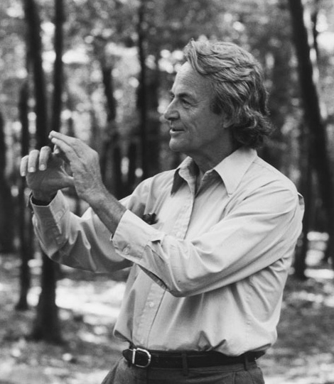 Rogers Commission member and theoretical physicist Richard Feynman. Photo Credit: Tamiko Thiel