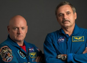 Scott Kelly Mikhail Kornienko one year mission International Space Station NASA image posted on SpaceFlight Insider
