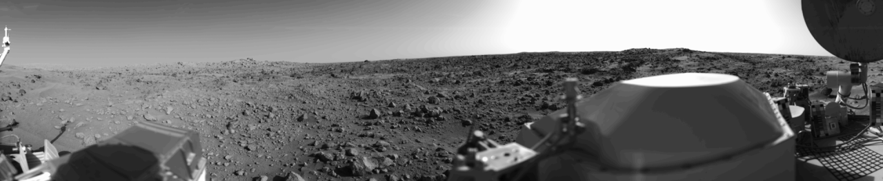 View from Mars Viking lander NASA photo posted on SpaceFlight Insdier