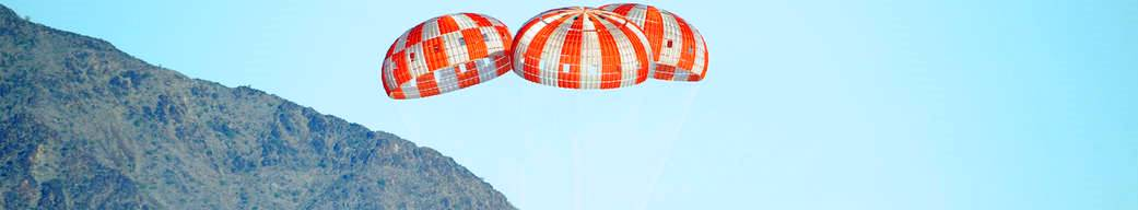 Orion parachute test Wednesday January 13 2016 photo credit NASA posted on SpaceFlight Insider