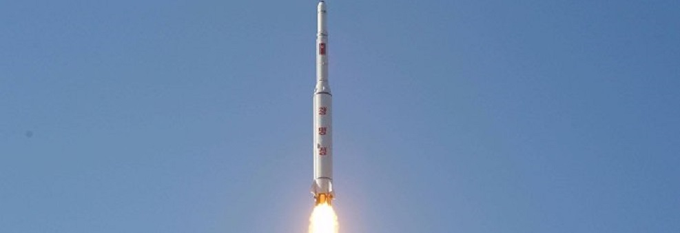 North Korea's Unha-3 rocket launches the Kwangmyŏngsŏng-4 satellite into orbit.