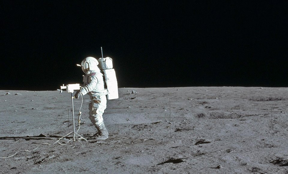Apollo 14 Edgar Mitchell on the Moon. Photo Credit: NASA / Retro Space Images