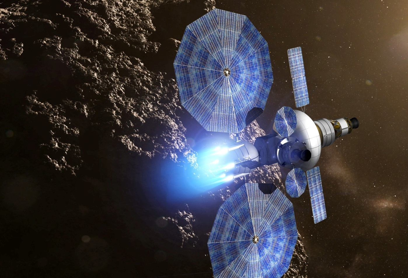 Solar Electric Propulsion Nasa S Engine To Mars And