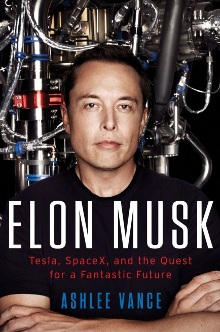 Elon Musk Tesla SpaceX and the Quest for a Fantastic Future image credit Harper Collins posted on SpaceFlight Insider