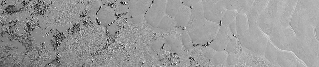 Image of Sputnik Planum region of Pluto as viewed by NASA's New Horizons spacecraft photo credit NASA JPL posted on SpaceFlight Insider