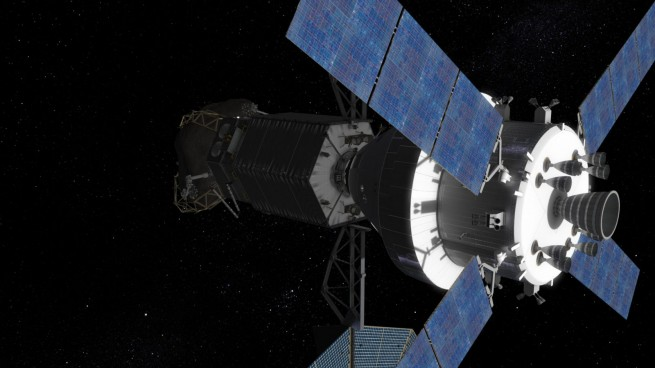 Asteroid Redirect MIssion with Orion spacecraft NASA image posted on SpaceFlight Insider
