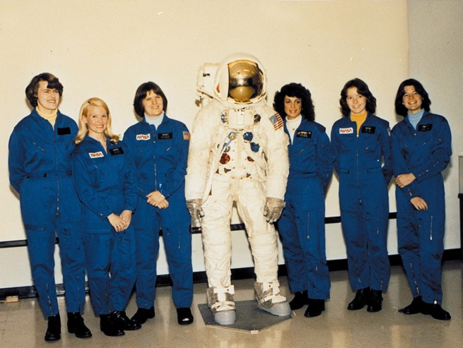 first six female NASA astronauts as seen on Spaceflight Insider