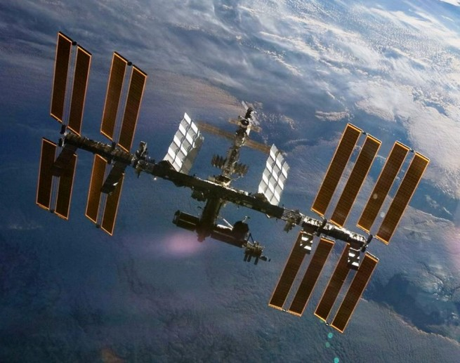 International Space Station NASA photo posted on SpaceFlight Insider