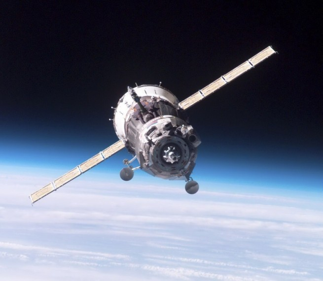 The Soyuz TMA-20M spacecraft approaches the ISS. Photo Credit: NASA