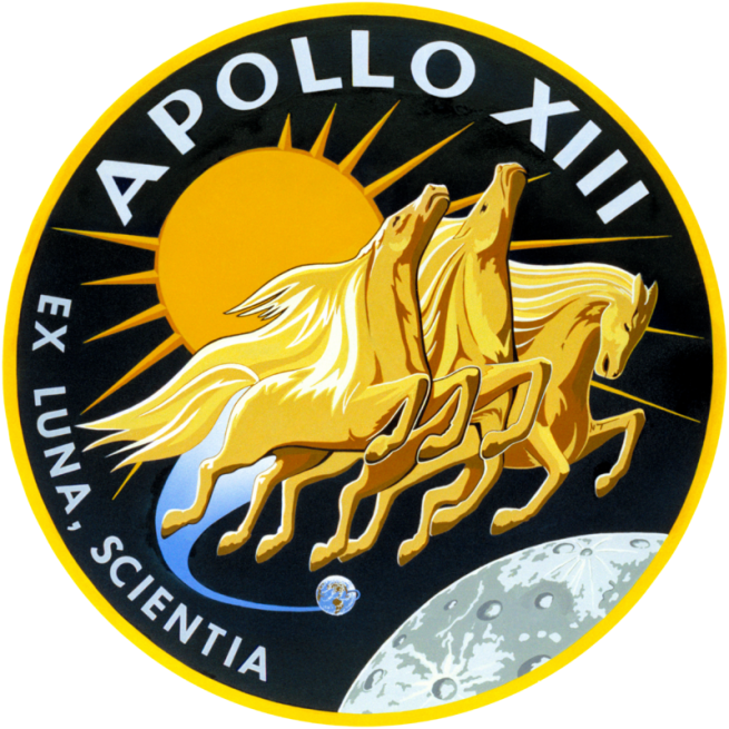 Apollo 13 mission patch image credit NASA