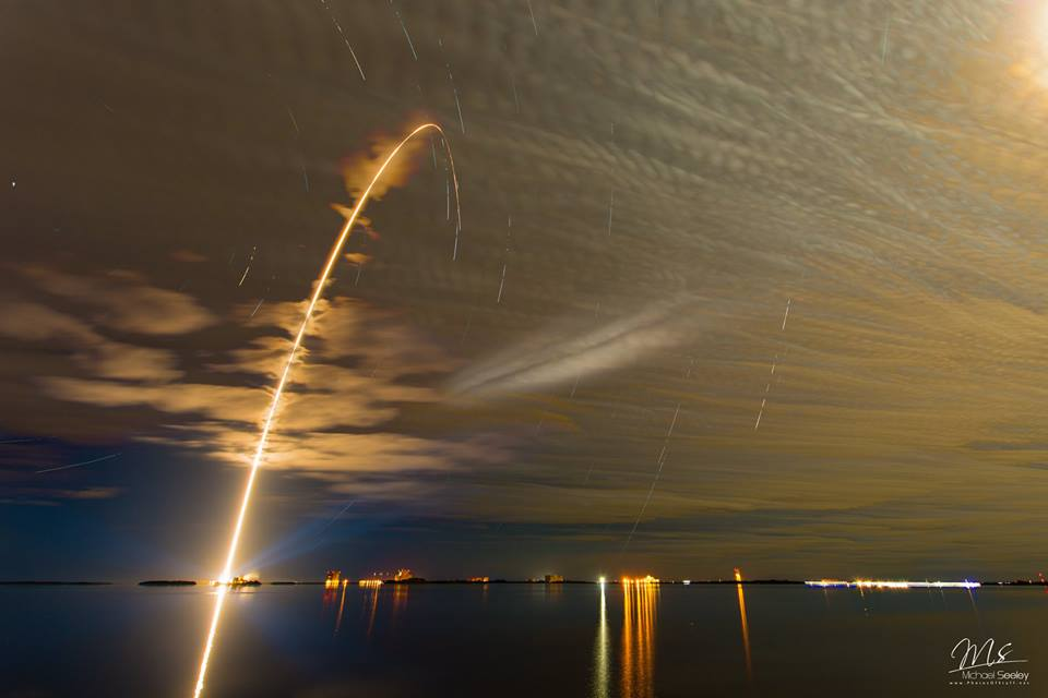 Launch of ULA Atlas V 401 rocket with Orbital ATK S.S. Rick Husband Cygnus photo credit Michael Seeley We Report Space