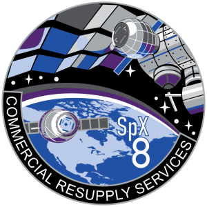 SpaceX_CRS-8_Patch NASA image posted on SpaceFlight Insider