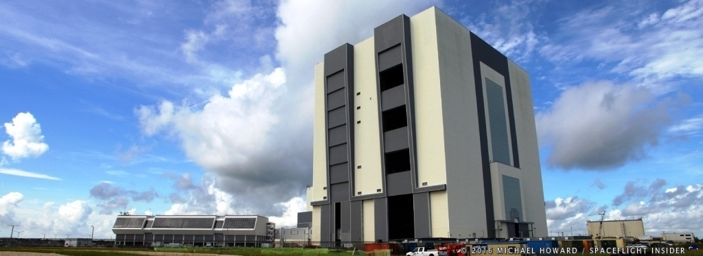 Orbital ATK as entered into an agreement to use NASA's Vehicle Assembly Building at Kennedy Space Center in Florida.