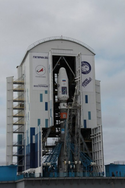 Russia U2019s Vostochny Spaceport To Debut With The Launch Of