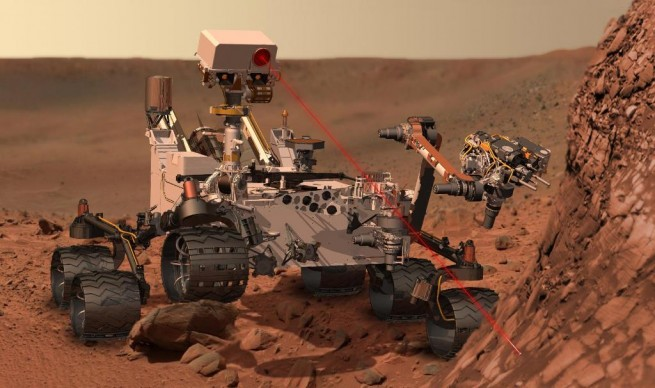 Mars Science Laboratory rover Curiosity image credit NASA JPL posted on SpaceFlight Insider