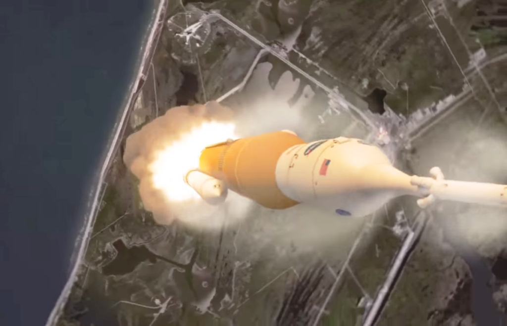 Video: NASA releases new animation of super-heavy-lift SLS ...