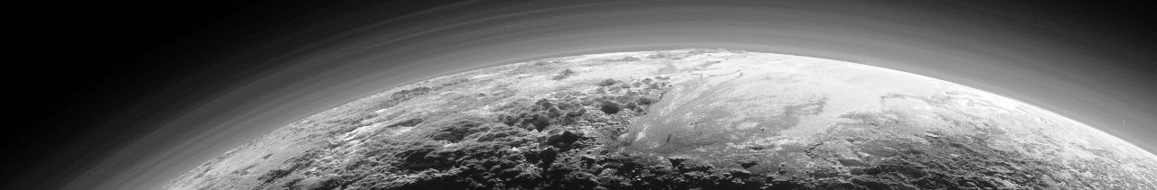 Pluto New Horizons JHUAPL image posted on SpaceFlight Insider