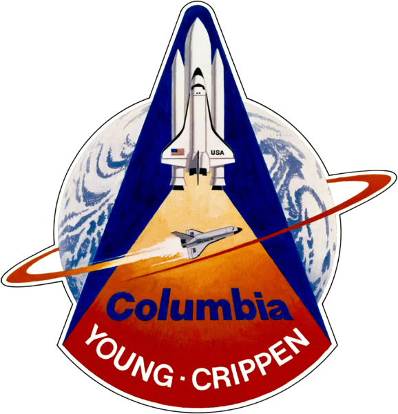 STS-1 mission patch image credit NASA posted on SpaceFlight Insider