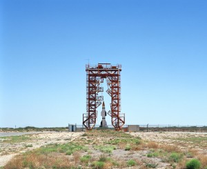 V2 Launch Site with Hermes A-1 Rocket,Launch Complex 33 Gantry,W photo credit Roland Miller posted on SpaceFlight Insider with permission