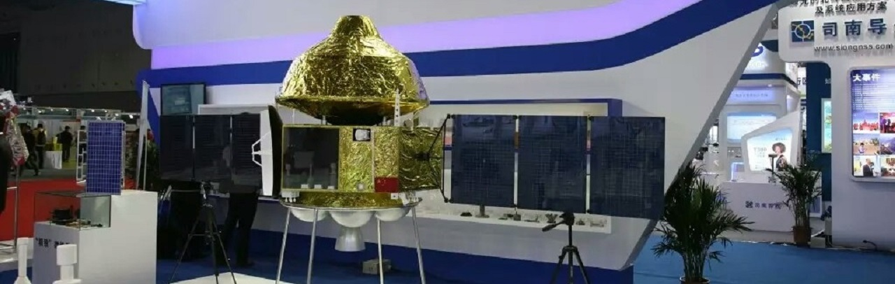 A model of the Chinese Mars mission.