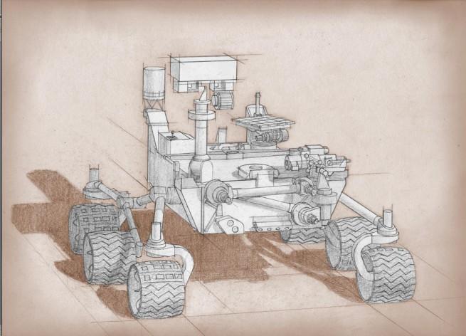 Mars 2020 sketch