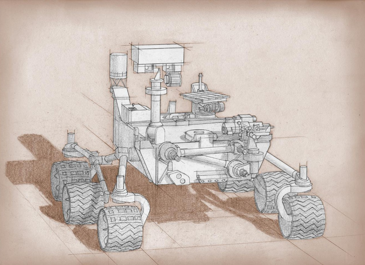 how to build a simple mars rover