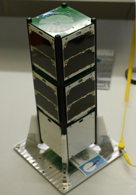 SamSat-218 nanosatellite.