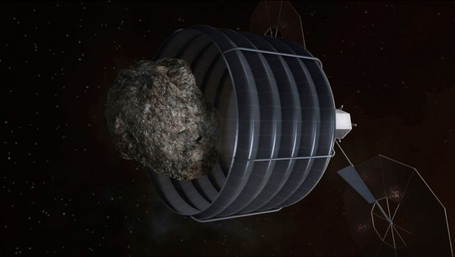 Asteroid Redirect Mission NASA image posted on SpaceFlight Insider