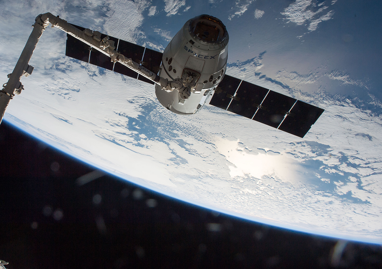Dragon released from International Space Station, lands in ...