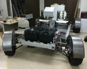 The lunar rover replica. Photo Credit: Ohio Northern University
