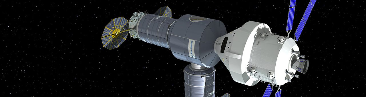 Orbital ATK lunar orbit habitat