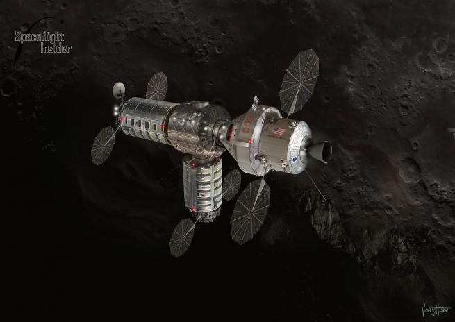 Orbital ATK lunar habitat image credit James Vaughan SpaceFlight Insider