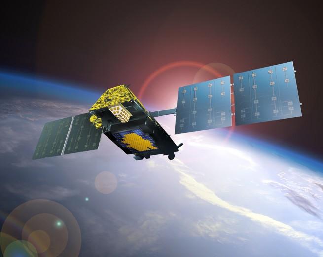 Iridium NEXT satellite