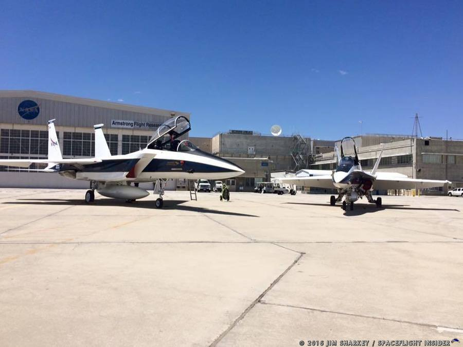 NASA Armstrong event highlights supersonic flight research ...