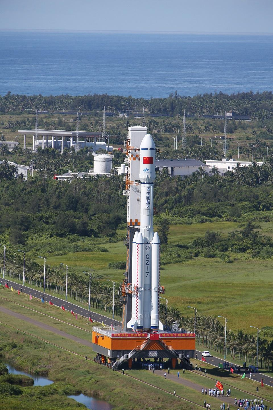 China to introduce its newest Long March 7 rocket to the ...