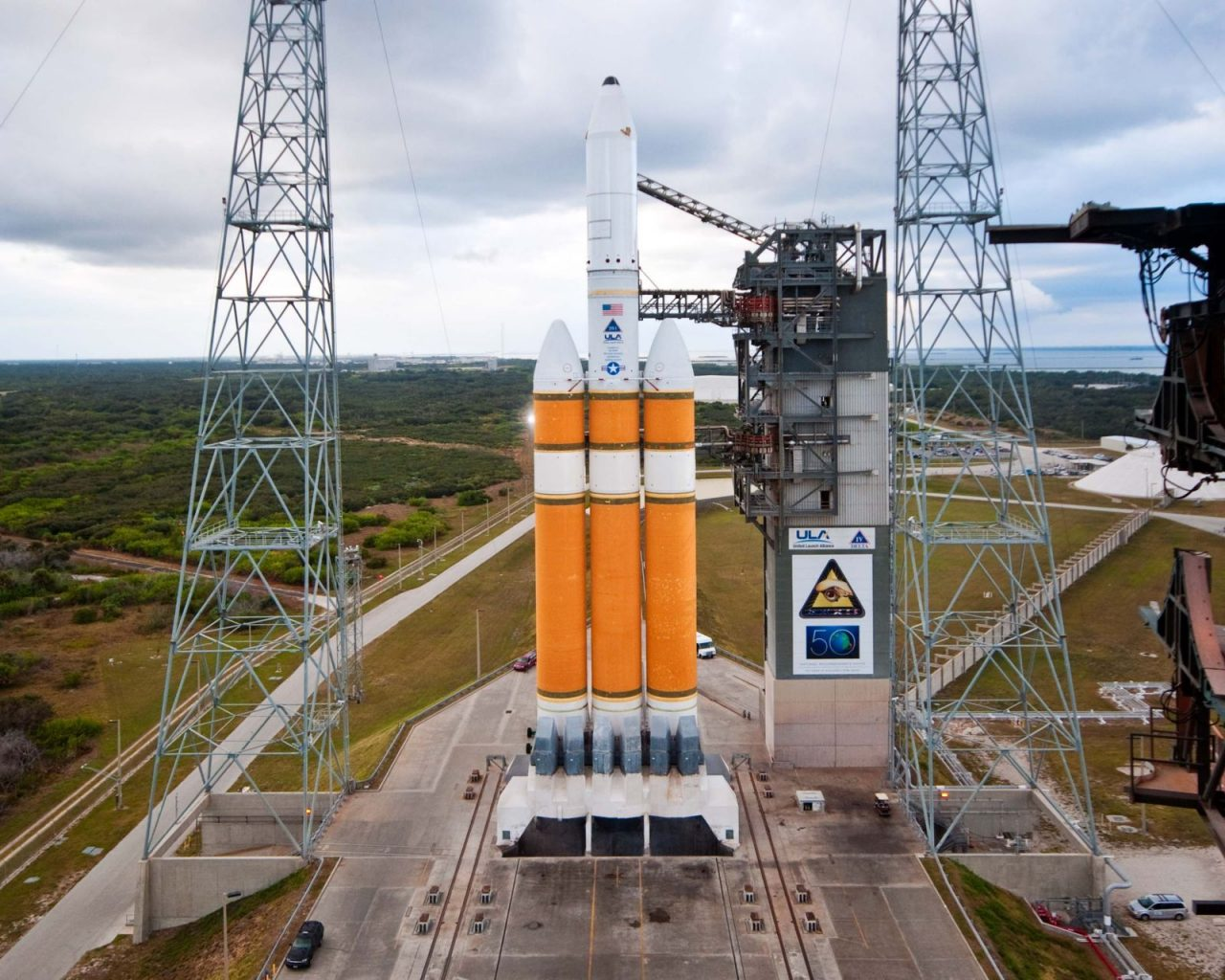 Look for Delta-4 Heavy rocket to launch today from Cape
