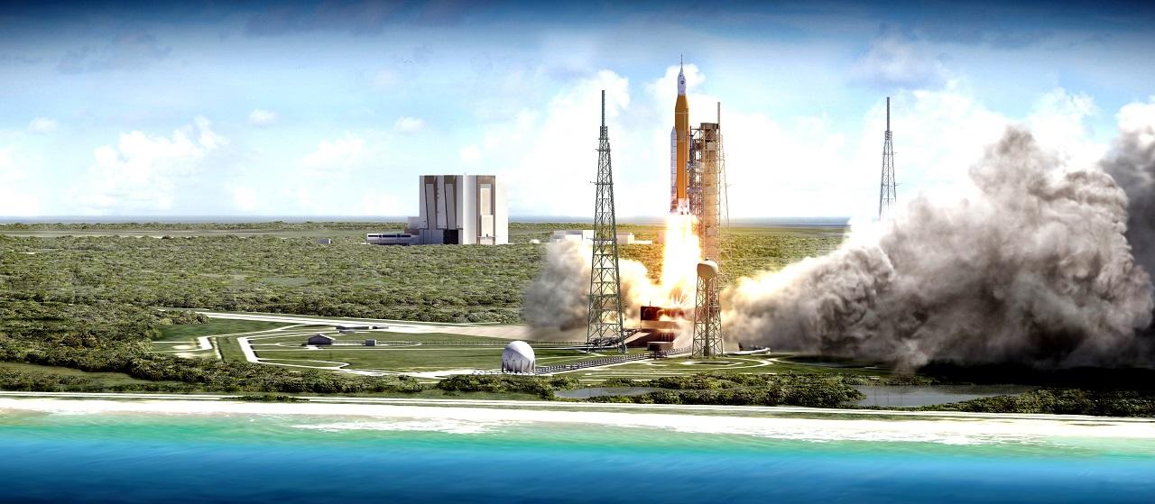 SLS Launch of EM-1