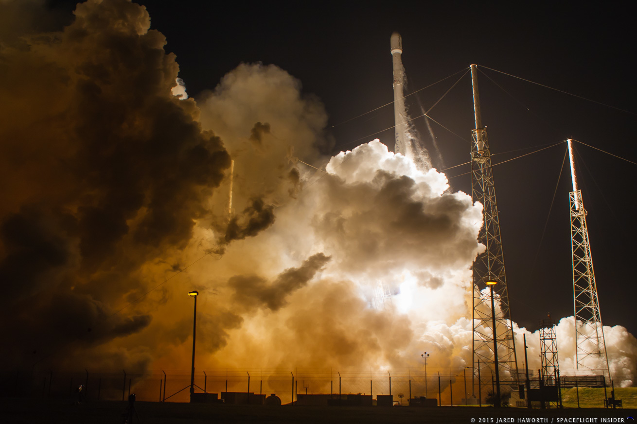SpaceX conducts second ground landing after launch of CRS-9 Dragon to ISS - SpaceFlight Insider