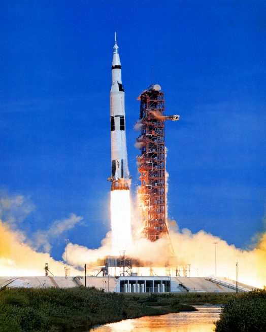 Apollo 15 launch. Photo Credit: NASA
