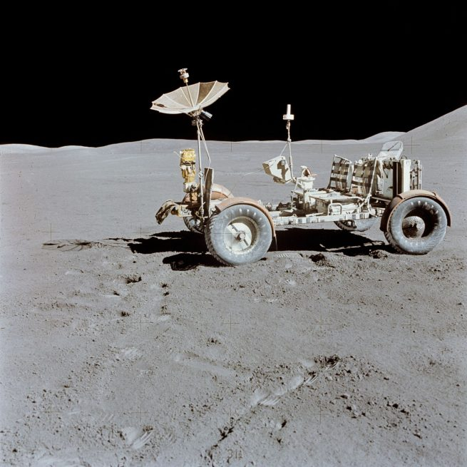 The Lunar Roving Vehicle. Photo Credit: NASA
