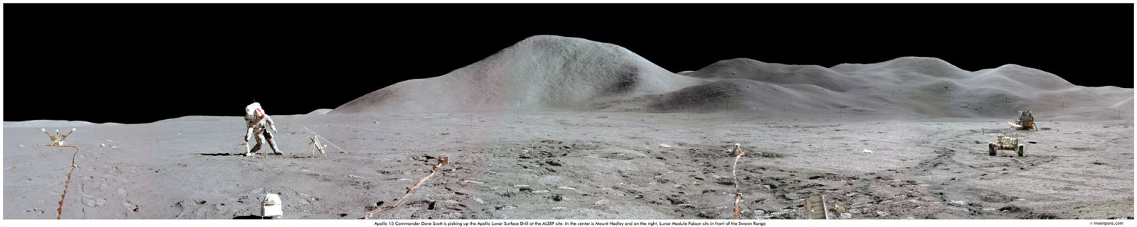 Apollo 15 panorama. Photo Credit: NASA