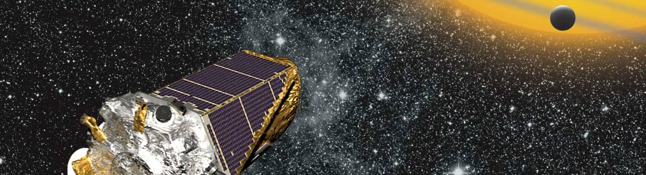 Artists concept of NASA's Kepler Space Telescope posted on SpaceFlight Insider