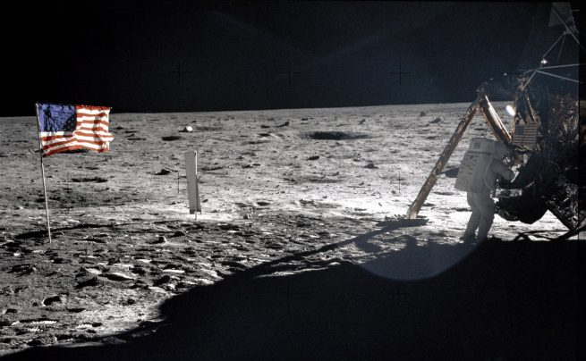 Apollo 11: The only photo of Neil Armstrong on the lunar surface. Photo Credit: NASA
