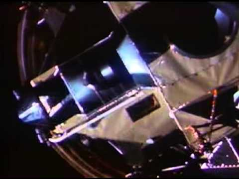 Apollo 11: Transposition and docking with the lunar module Eagle. Photo Credit: NASA