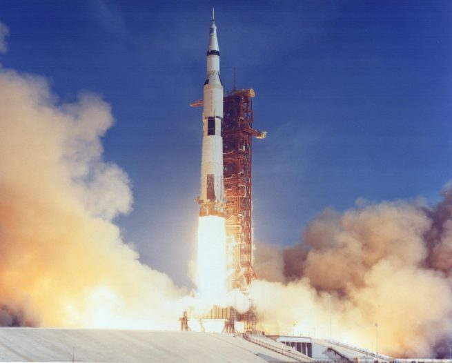 The launch of Apollo 11. Photo Credit: NASA