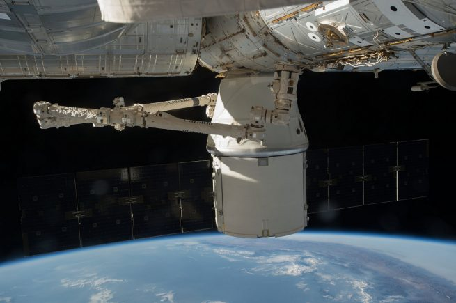 CRS-9 Berthed at ISS