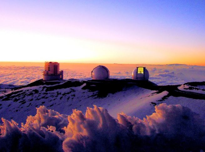 Mauna_Kea_observatory Astrojunta photo posted on SpaceFlight Insider
