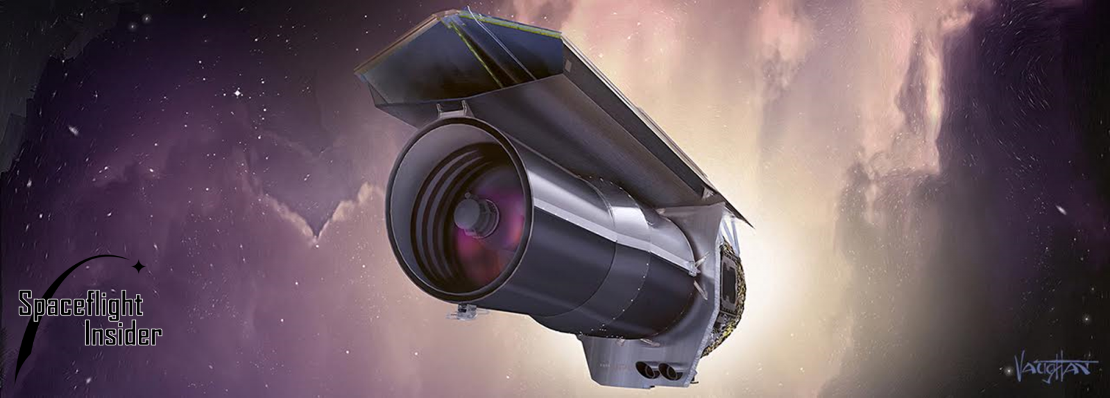 "NASA's Spitzer Space Telescope is slated to enter its ""Beyond"" phase on Oct. 1, 2016. Image Credit: James Vaughan / SpaceFlight Insider"
