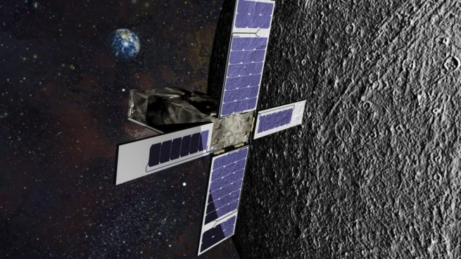 SkyFire will use a groundbreaking infrared camera to help expand NASA's understanding of the moon. Artist's depiction courtesy of Lockheed Martin