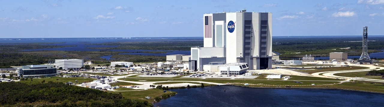 Kennedy Space Center's Vehicles Assembly Building (VAB). Photo Credit: NASA posted on SpaceFlight Insider